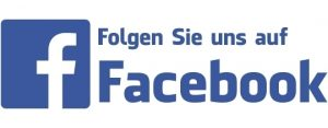 Folgen Sie uns auf Facebook Logo